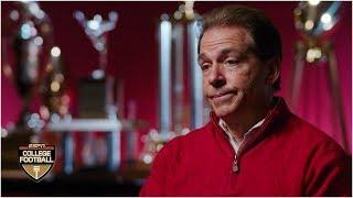 Nick Saban explains Bill Belichick's influence on him as a coach | College Football Video