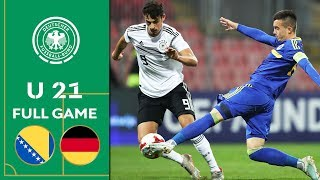 Bosnia Herzegovina vs Germany 0 2 Full Game U 21 Euro Qualifier