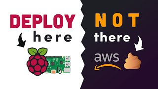 Raspberry Pi versus AẄS // How to host your website on the RPi4