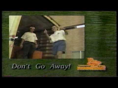 Coach Derrick Davis on The Johnny Majors Show 10/4/92