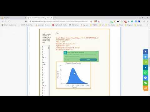 Gumbel Distribution Excel