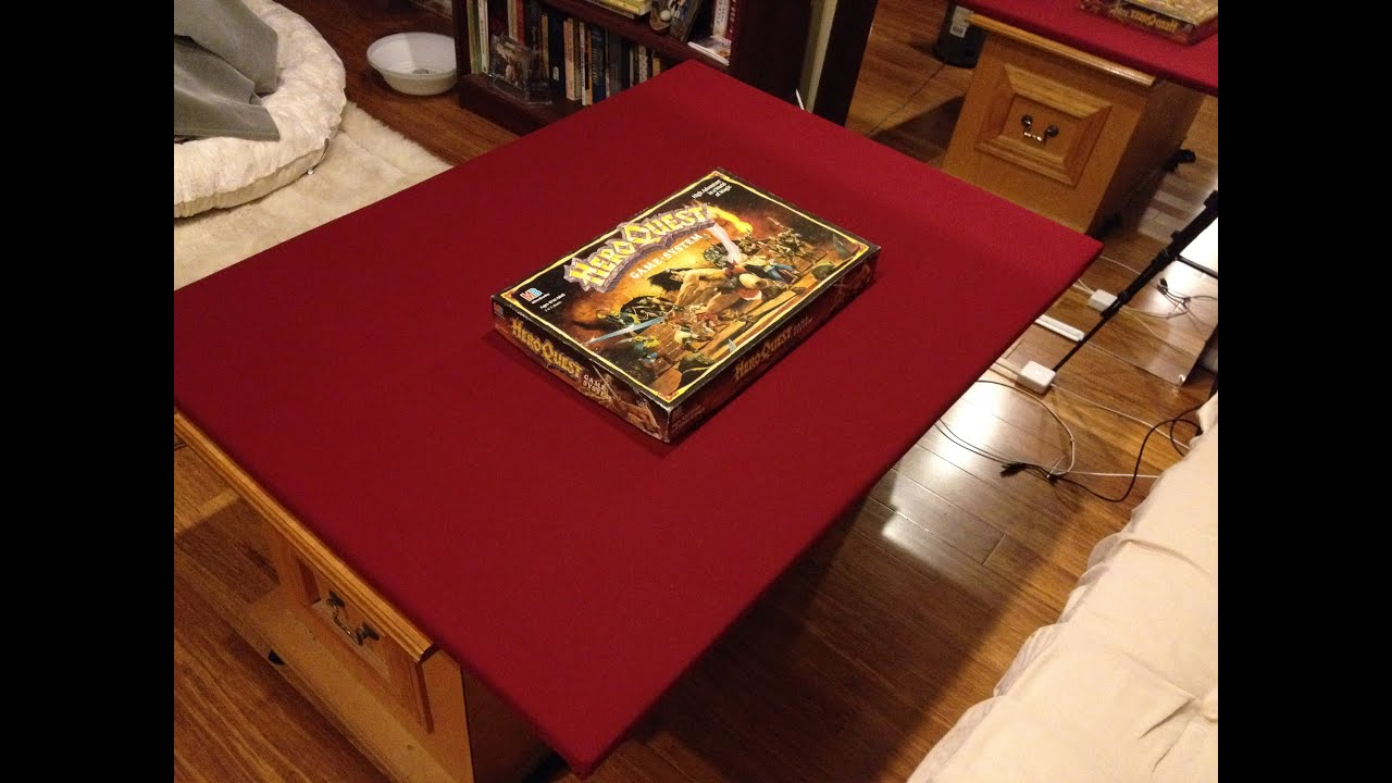 DiY Game Table YouTube - Cheap board game table
