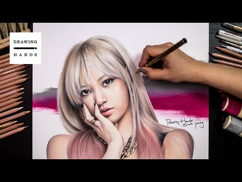 Speed Drawing BlackPink - Lisa [Drawing Hands]