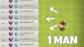 """50 people = 1 man""""Clash Of Clans"""" Coc World championships!"""