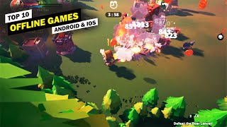Top 10 Best OFFLINE Games for Android & iOS 2020!