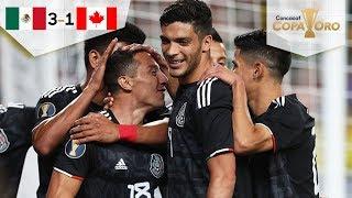 México pasa sobre Canadá | México 3 - 1 Canadá | Copa Oro - Grupo A | Televisa Deportes