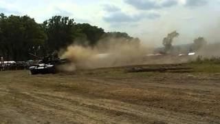 Tank  crash test