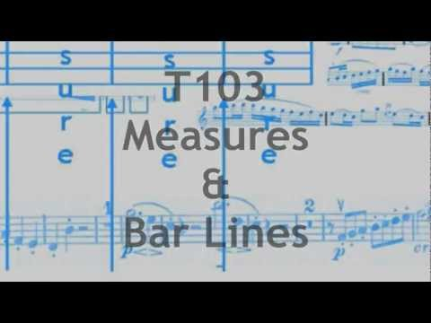 T103 Measures & Bar Lines