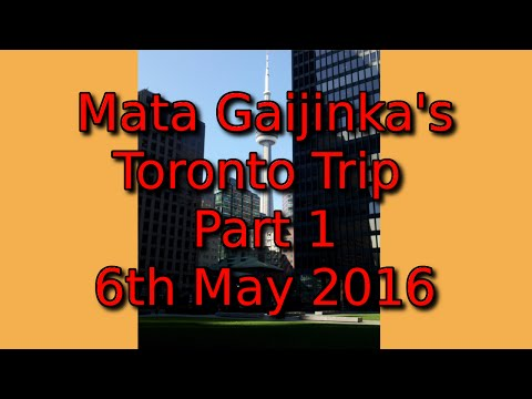 Toronto Trip 2016 day 1 (6th May 2016) - The Via Rail Train Ride