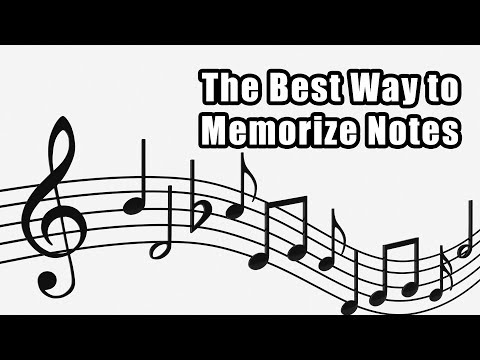 Learning Musical Notes on the Staff - Best Way to Memorize Notes