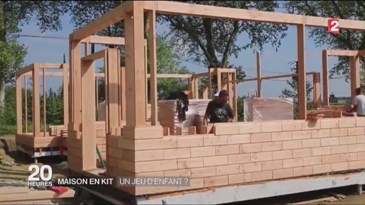 Maison en kit un jeu d 39 enfant youtube for Construire sa maison simulation