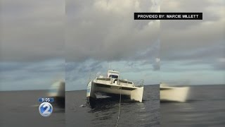 Police search for suspects in stolen catamaran on Kauai