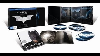 Unboxing cofanetto: THE DARK KNIGHT TRILOGY (ITA).