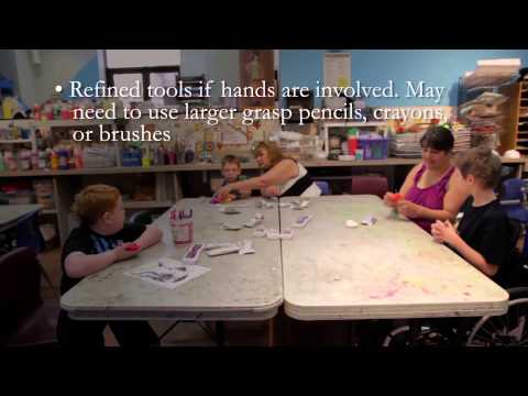 Art Lessons for Children with Disabilities: Physical Disabilities