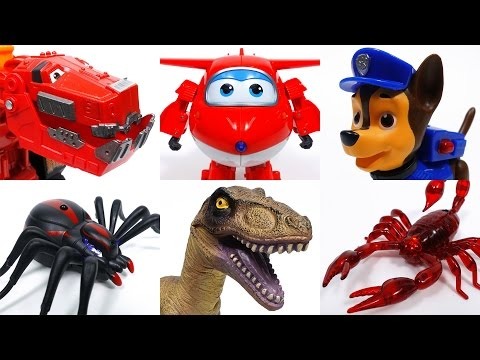 Thumbnail: Toys Vs. Toys~! Go Dinotrux Superwings Paw Patrol