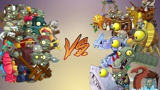 Plants vs Zombies 2 Mod | All Gargantuar vs All Zomboss thumbnail