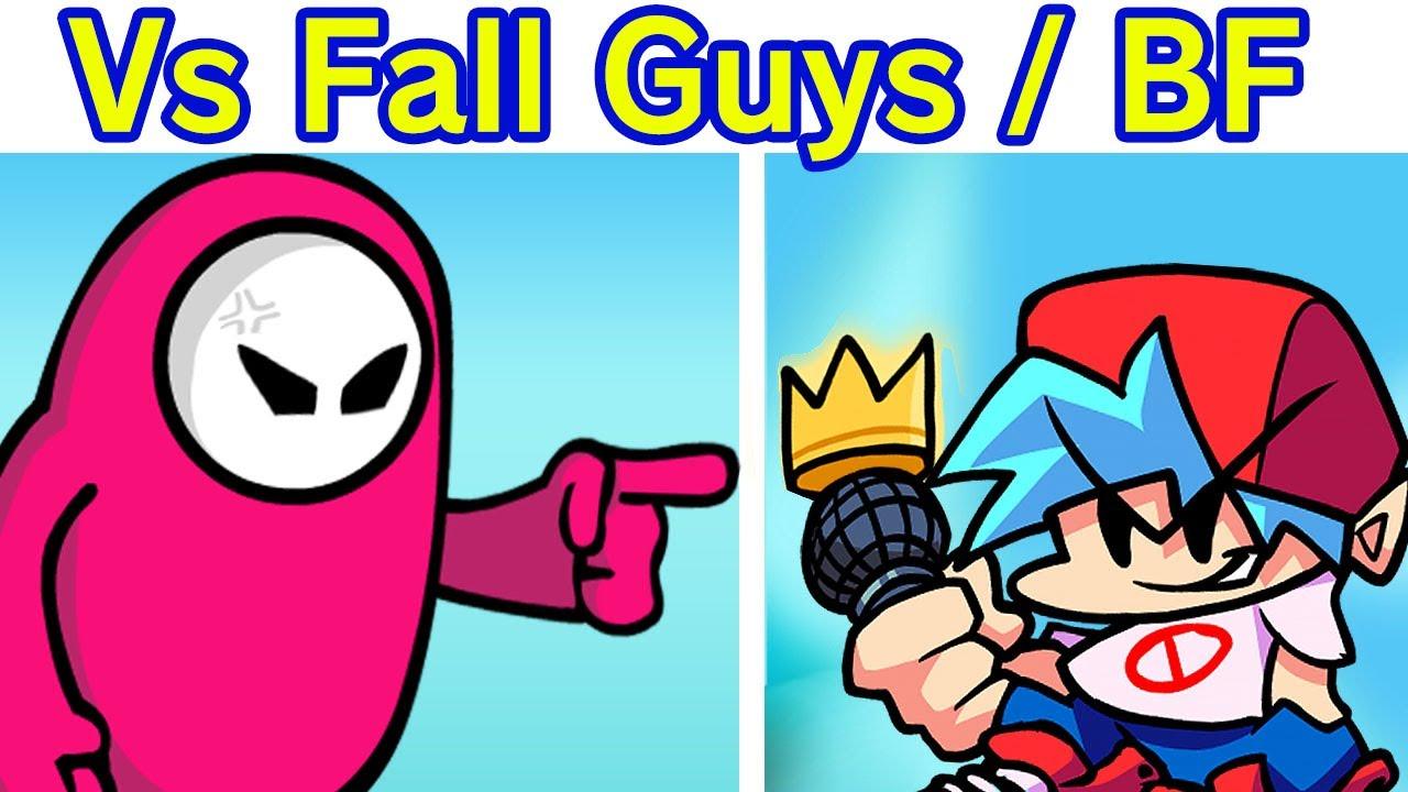 Friday Night Funkin' VS Fall Guy Semana Completa + Cutscenes (Ultimate Funkout Season)