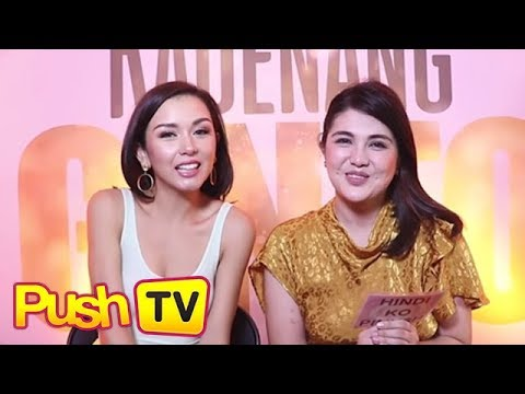 Push Exclusive: Beauty Gonzalez and Dimples Romana take the Pinush Ko challenge
