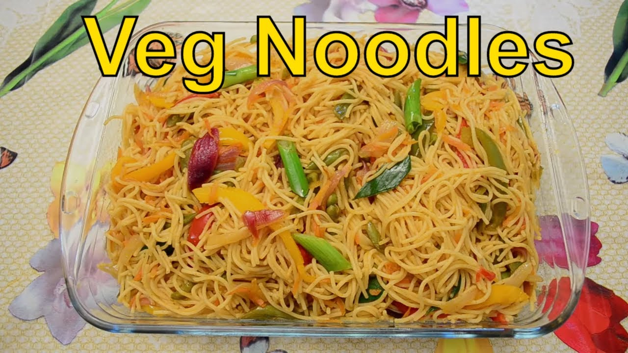 Vegetable noodles indo chinese style youtube forumfinder Image collections