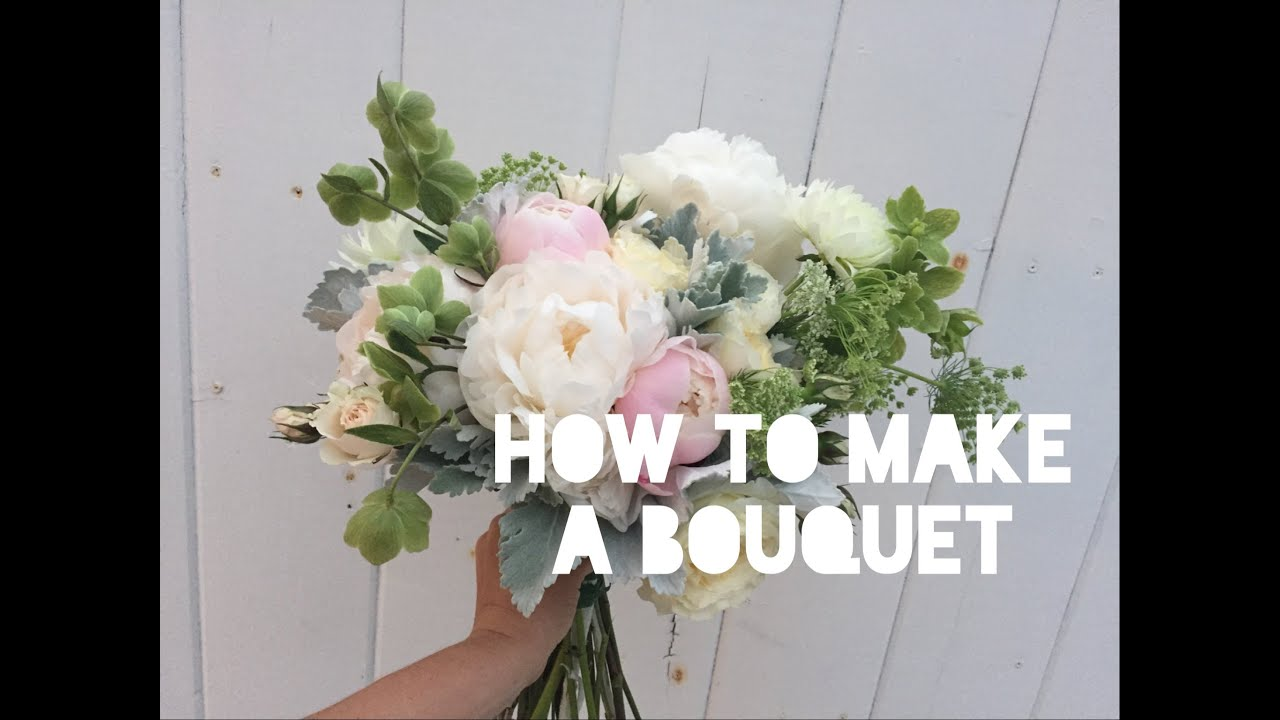 Flower design 101 bouquets youtube izmirmasajfo