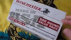 WINCHESTER 500 Round Value Pack 9mm 115 grain FMJ