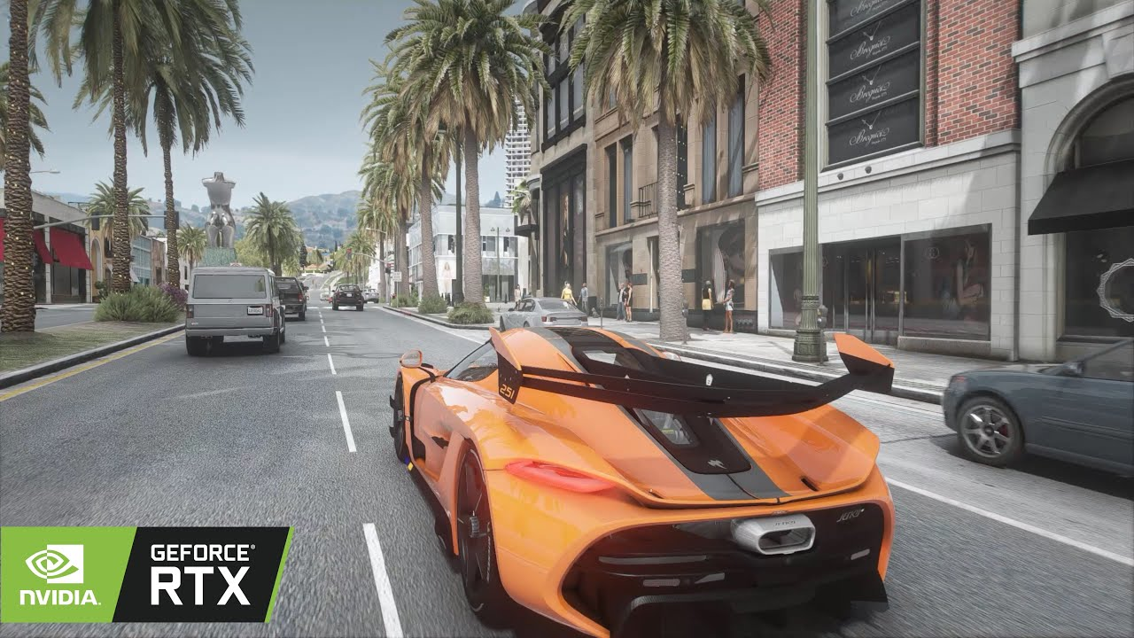Grand Theft Auto 6: Concept ALPHA Graphics - Driving Gameplay! PC MAX SETTINGS 60 FPS - RESHADE MOD