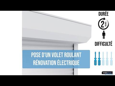 Volet Roulant Renovation Avec Coffre Alu Pour Porte Fenetre