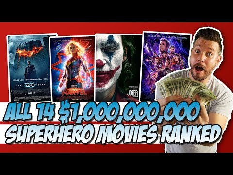 all-14-$1,000,000,000-grossing-superhero-movies-ranked!