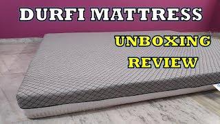 Durfi Memory Foam Mattress - Unboxing & Review