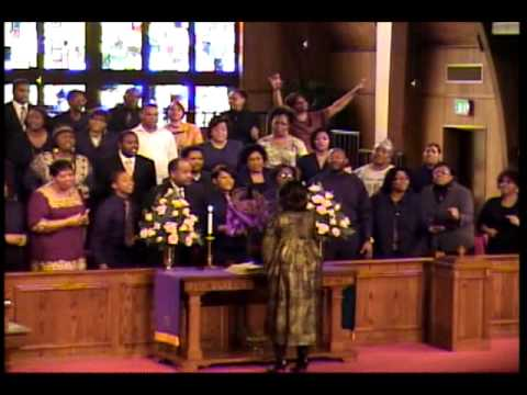 """Anderson UM Church's Sanctuary Choir - Rev. James Cleveland's """"God Is"""""""