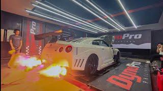 Making a 700HP Varis GTR shoot FLAMES!