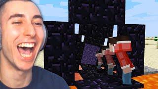 I Trolled Quiff with a Cursed Minecraft Speedrun