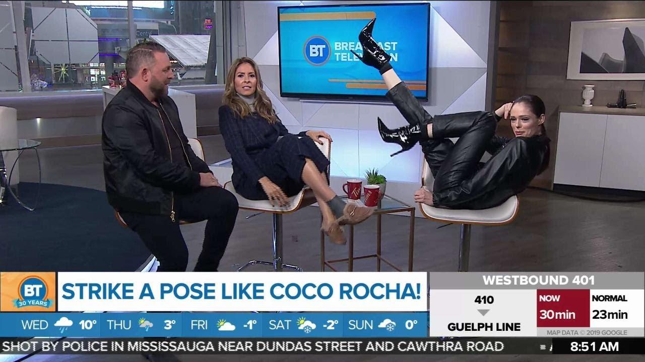Strike a Pose like Coco Rocha!