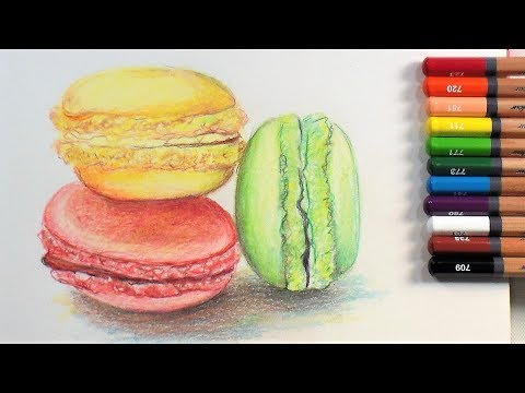 Layering Limited Colored Pencils // REAL TIME Tutorial // Smart Art January 2018 box