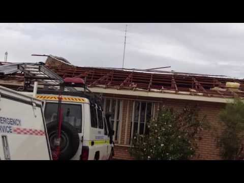 BOM's Neil Bennett on the destructive damage high winds can cause in winter