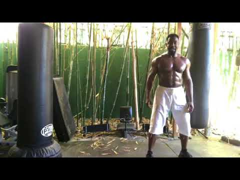 Michael Jai White on Covering Distance part 2 full frame and slower.