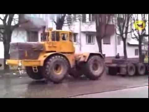 Видео приколы с тракторами