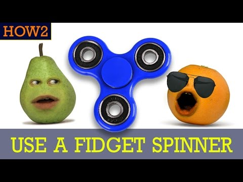 HOW2: How to Use a Fidget Spinner!
