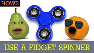 how2 how to use a fidget spinner