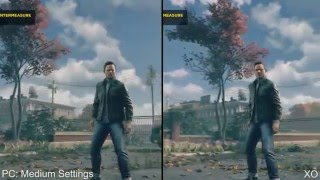 Quantum Break: PC vs Xbox One (СРАВНЕНИЕ ГРАФИКИ) #1
