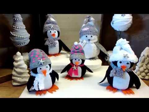 diy pinguin aus socken basteln youtube. Black Bedroom Furniture Sets. Home Design Ideas