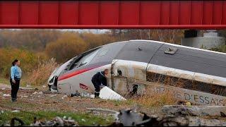 مصرع 10 أشخاص في انحراف قطار سريع عن مساره شرق فرنسا