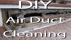 DIY - Clean Your Air Heat Vents