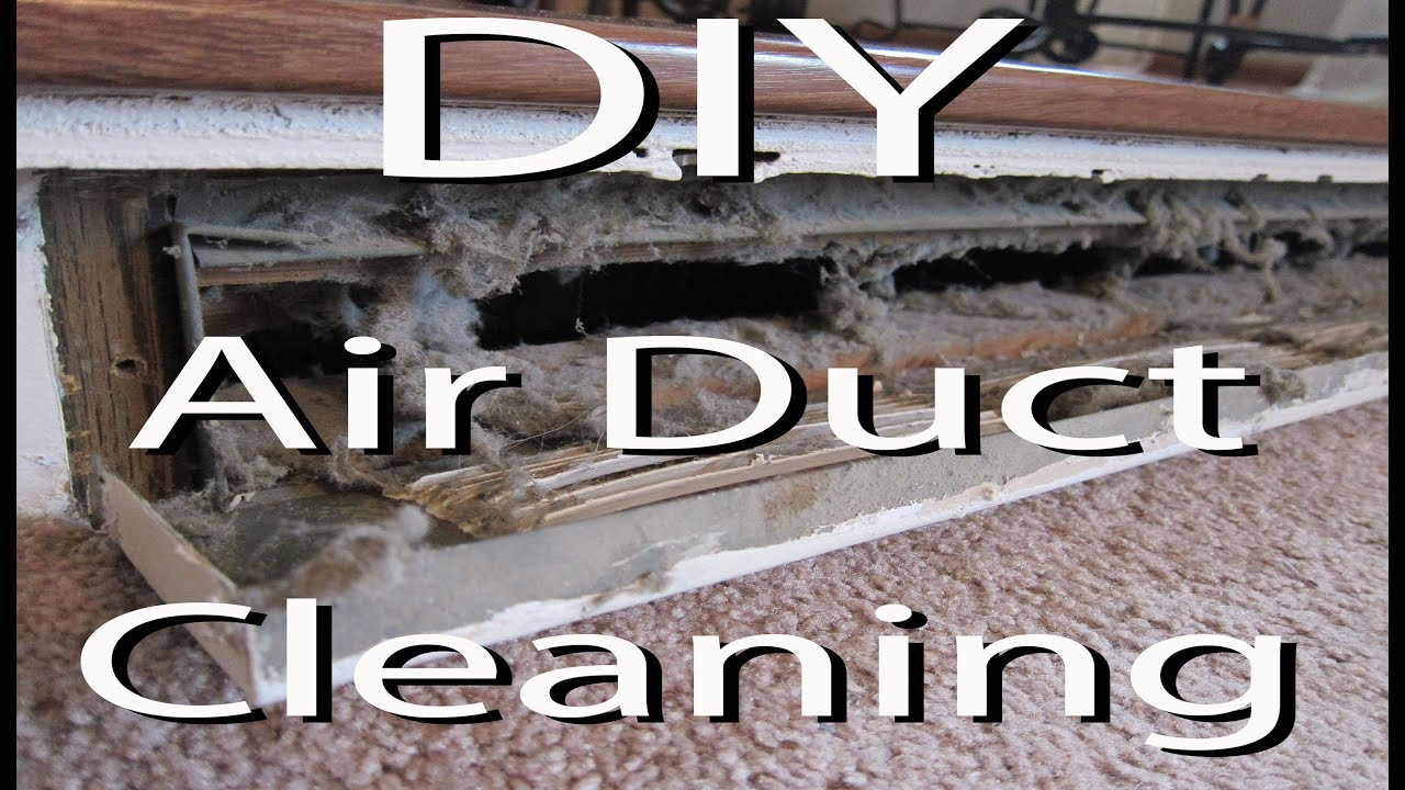 DIY - Clean Your Air Heat Vents - YouTube
