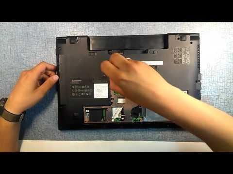 Разборка и ремонт ноутбука Lenovo B560 (Lenovo IdeaPad B560 Disassembly)