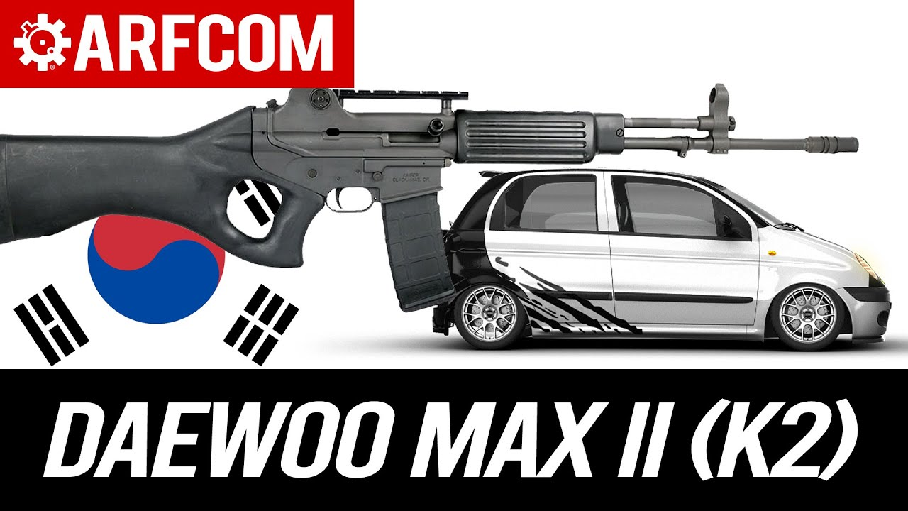 ROKing Out With The Illegitimate Offspring of an AR and an AK: Daewoo Max II (K2)