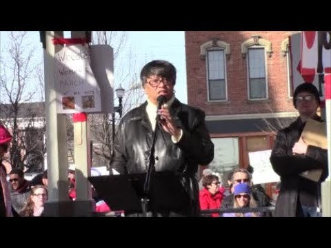 Women's March -  Wooster, Ohio - January 20, 2018