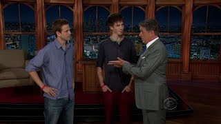 Late Late Show with Craig Ferguson 7/17/2013 Sir Anthony Hopkins; Jes Macallan