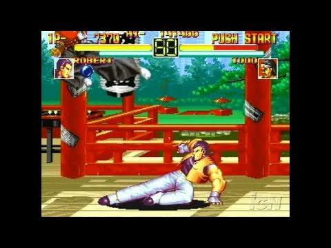 Art Of Fighting Anthology Playstation 2 Gameplay Youtube