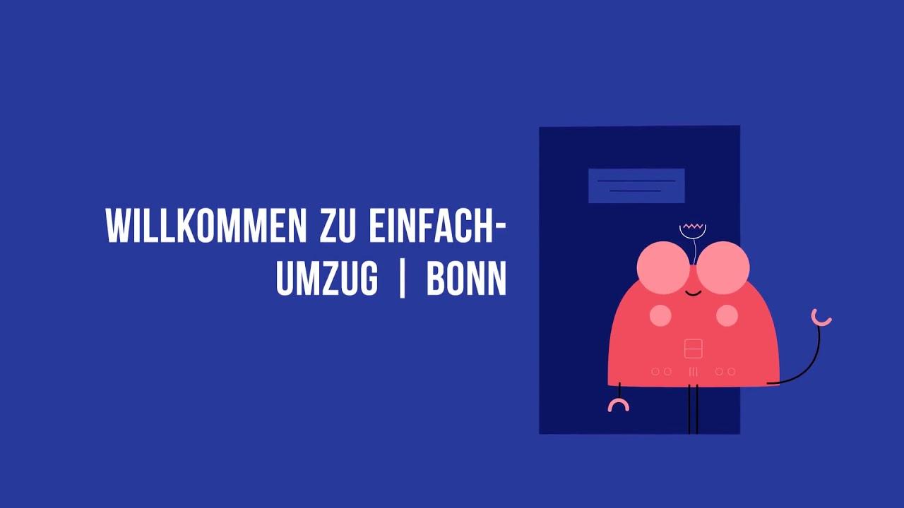 Einfach Umzugsfirma in Bonn | 0221 – 98 88 62 58